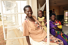 Patients at Dokolo Health Center IV