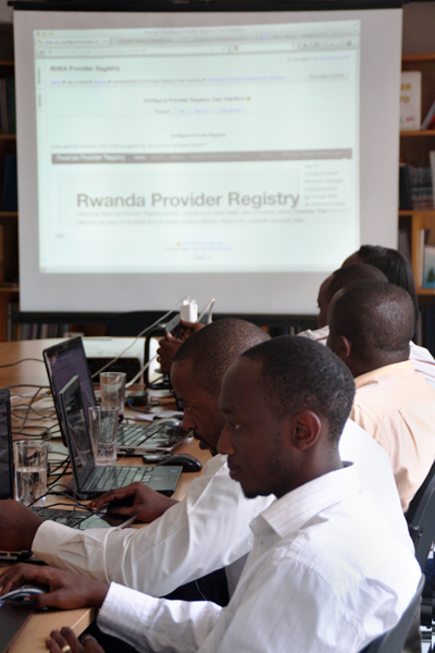 Developers learning to use the Provider Registry
