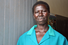 Ugandan health worker