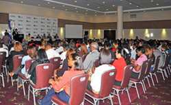 Audience at Dominican Republic launch event