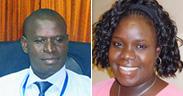 Patrick Kyalo and Doris Mwarey