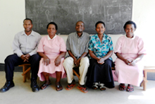 health workers in Uganda